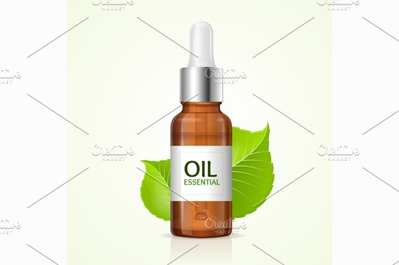 Aromatherapy Concept. Vector - Illustrations