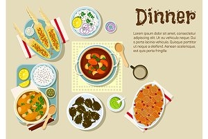 Weekend dinner dishes