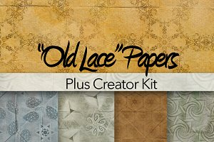 12 Digital Pattern Papers