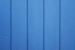 Bright Blue Wood