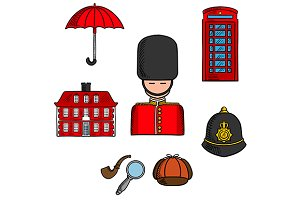 Symbols and landmarks of Britain