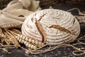 Crusty Fresh Homemade Rye Bread