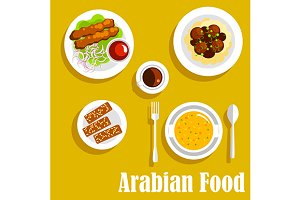 Authentic arabian cuisine