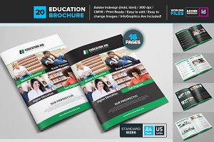 Educational Brochure Template 20