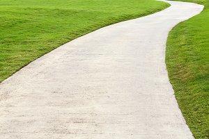 Walking way
