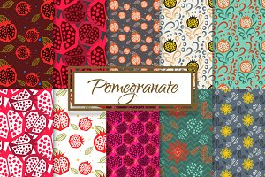 Pomegranate Seamless Paper Pack