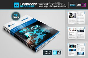 Technology Brochure Template 22