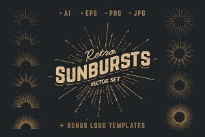 Retro Sunbursts