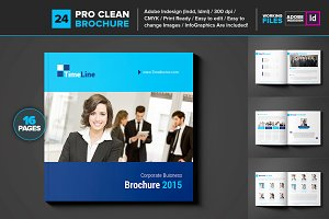 Business Brochure Square Brochure 24