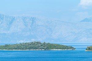 Lefkada coastline (Greece)