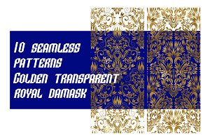 10 royal damask patterns