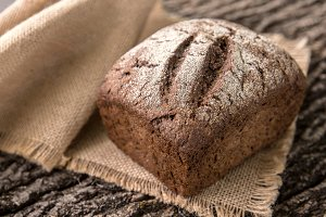 Crusty Fresh Homemade Rye Bread