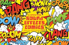 Comics sound effects