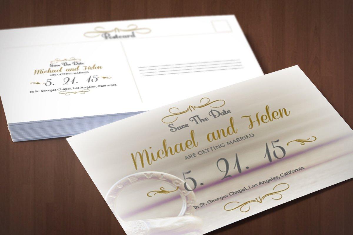 Wedding Invitation ~ Invitation Templates ~ Creative Market