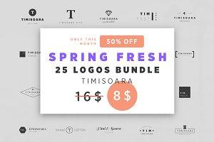 New 25 Logos Bundle - Timisoara