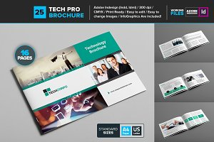 Technology Brochure Template 25
