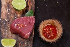 Tuna steaks