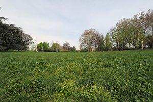 Valentino park in Turin