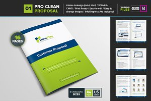 Clean Proposal/Brochure Template 01