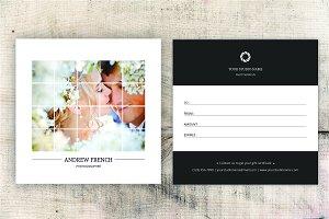 Photographer Gift Certificate-V05
