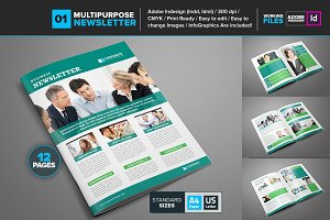 Multipurpose Newsletter Template 01