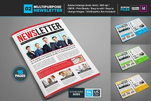 Multipurpose Newsletter Template 02