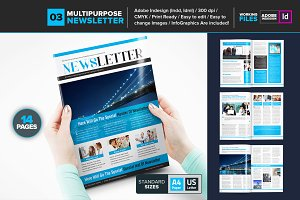 Multipurpose Newsletter Template 03