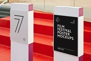 Film Festival Poster Mock-ups