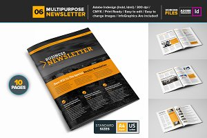 Multipurpose Newsletter Template 06