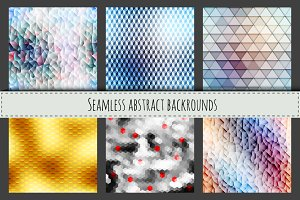 Seamless low poly textures