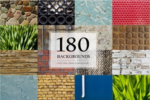 180 high quality backgrounds