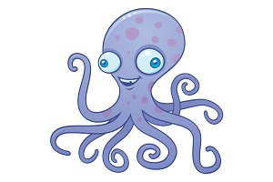 Silly Octopus Cartoon