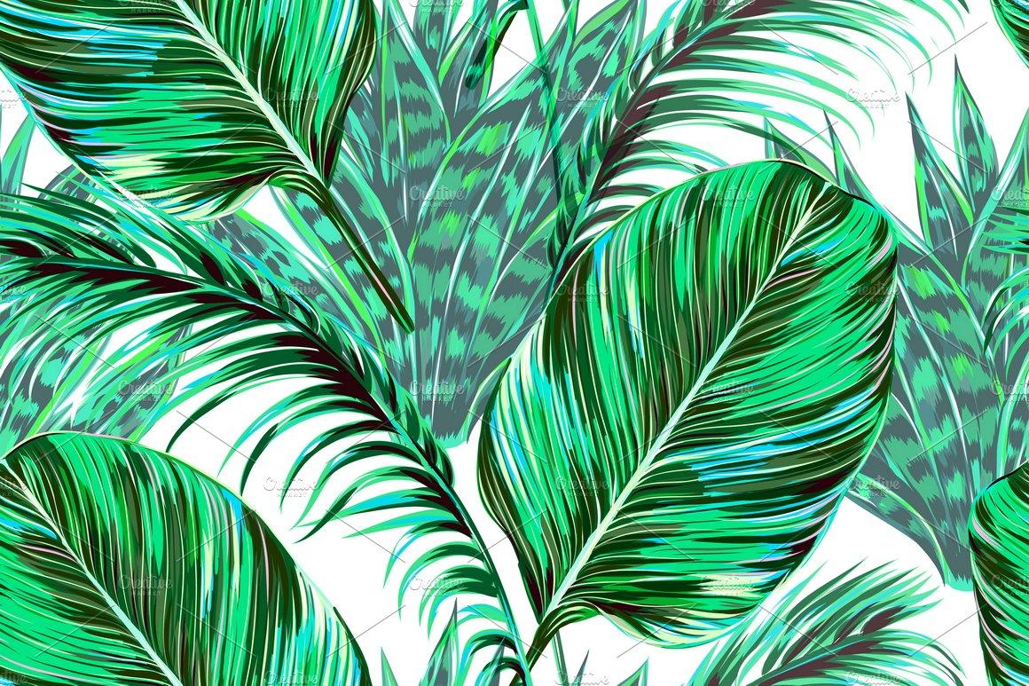 Tropical Pattern Tumblr