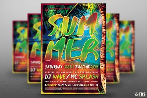 Summertime Flyer Template V1