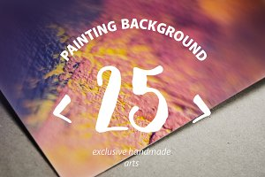 ABSTRACT PAINT BACKGROUND BUNDLE
