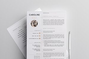 Resume Template Clear Edition-1