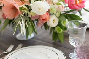 Flowers & Table