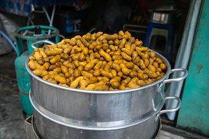 Peanuts in a Bucket