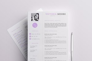 Professional Resume/CV Template - 4