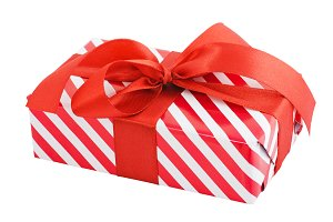 Gift box wrapped