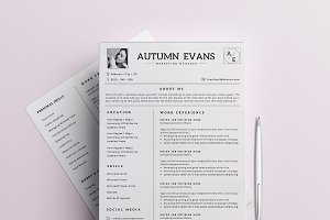 Professional Resume / CV Template-6