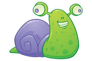 Snail Cartoon