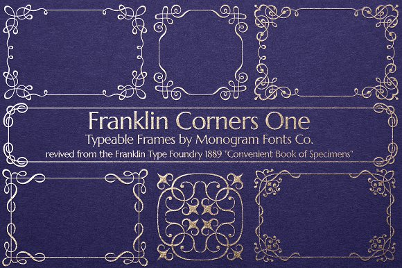 MFC Franklin Corners One in Display Fonts