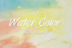 10 water color backgrounds