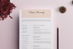 Professional Resume/CV Template - 9