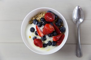 Fruit Yogurt Breakfast Bowl