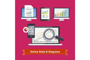 Statistics schemes and diagrams