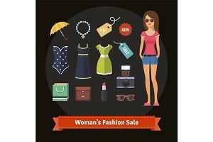 Woman's summer fashion sale
