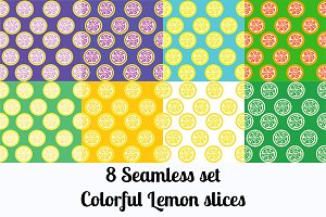 8 Citrus Background Seamless