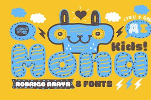 La Mona Kids / Cyrillic+Greek -85%